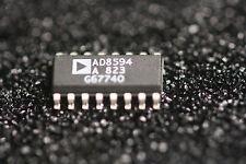10 pcs. AD8594AR QUAD, CMOS RAIL-RAIL OP AMP W/SHUTDOWN