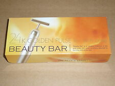 Beauty Bar 24K Golden Pulse Facial Massager Skin Care Made in Japan BM-1 NEW