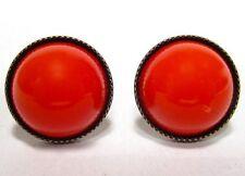 Mode-Ohrschmuck aus gemischten Metallen mit Cabochon-Schliffform für Damen
