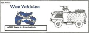 Wee Friends 1/76 British AT105 Saxon APC NI Patrol Vehicle