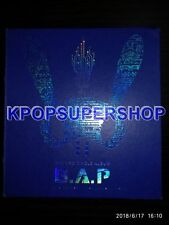 B.A.P Single Album 3rd Yessir Autographed Signed Promo CD Worn Edges BAP