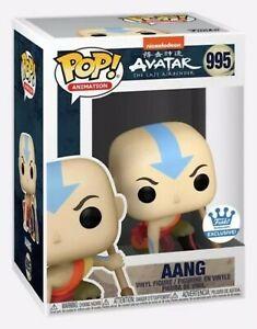 FUNKO POP! ANIMATION 995: AVATAR THE LAST AIRBENDER - AANG CROUCHING! EXCLUSIVE*