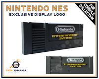 NINTENDO NES Display Logo EXCLUSIF pour Collection de Jeu Vidéo Rétro Geek