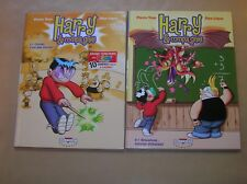 LOT 2 BD / HARRY & COMPAGNIE / TOMES 1 ET 2 / EDITIONS ORIGINALES / TB ETAT