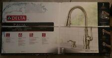 Delta Zalia Spotshield Stainless 1-Handle Deck Mount ShieldSpray Kitchen Faucet