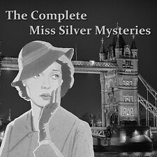 The Complete Miss Silver Mystery Collection 32 Stories - 2 MP3 DVDs  250 Hours +