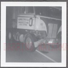 Vintage Photo 1970 Peterbilt COE Truck Wreck Knoxville Tennessee 759462