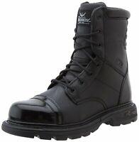 "Thorogood 834-6888: Men's Gen-flex Black 8"" Side Zip Jump Boot"