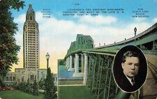 Postcard State Capitol Baton Rouge LA
