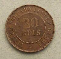 Brazil 20 reis 1900 ai165