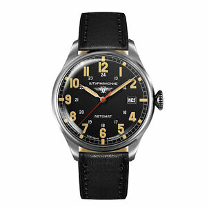 Sturmanskie Men's Watch 2416-6821349 Heritage Arctic Automatic Leather Band