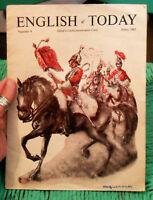 Vintage ENGLISH of TODAY Magazine Edited by David Mainwaring Evans June 1961 # 9