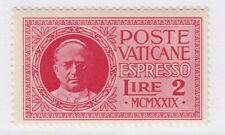Vatican City Special Delivery 1929 2L MH* A18P34F747