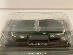 del Prado 1/43 Jaguar type E 1961 verte etat neuf sous blister scellé