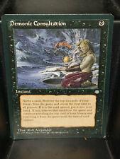 Demonic Consultation Ice Age Black Magic Gathering Unplayed MTG Card 1x x1 NM