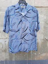 Tommy bahama blue silk shirt. Button down. Size M