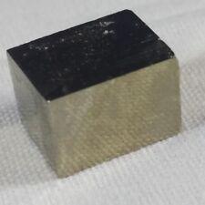Pirite Grezza CUBO di NAVAJUN Spagna Cristalloterapia Minerale Chakra Pietra ORO