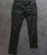 Jay Jays Skinny Size 11 Green Denim Jeans  Cotton,Polyester, Elastane