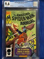 AMAZING SPIDERMAN ANNUAL #18 CGC 9.6 NM+ 1984 Scorpion Copper Age High Grade