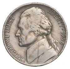 Key Date 1938-D - US Jefferson Nickel Coin Collection Lot Set Break *463