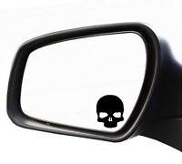 2x Aufkleber Spiegel Totenkopf Schädel Nummernschild Kennzeichen Punisher Skull