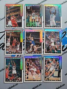 Komplettset 1993-94 Upper Deck Team MVP 1-27 Kemp, Pippen, Miller, Barkley