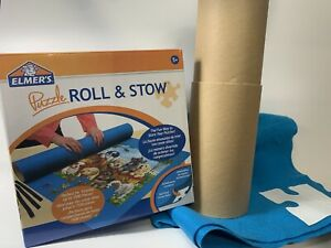 Elmer's Master Jigsaw Puzzle Roll Stow Mat Kit Holds Up To 1500 Pieces