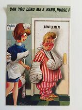 Vintage Postcard - Bamforth Comic By Taylor #2570 - Unused