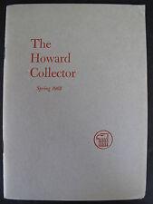 THE HOWARD COLLECTOR No. 2 Spring 1962 – Robert E. Howard (2)