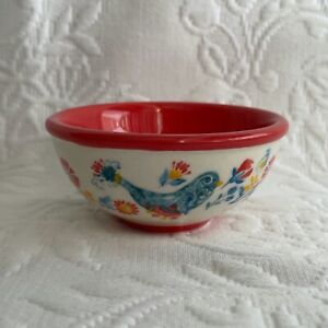 """Pioneer Woman Glass 3.1"""" Condiment Dip Prep Dipping Bowl NEW"""