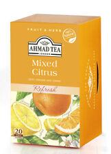 Ahmad Mixed Citrus Tea Bags 20 Envelops, x 6 box NEW