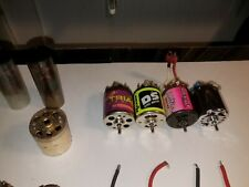 Used Motor & Parts Lot 1:10 Scale Trinity/Kyosho/Associated/Reedy