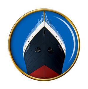 Titanic Lancement Broche Badge