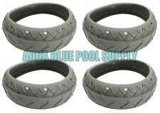 Letro Legend Pool Cleaner Platinum Truck (4) Replacement Grey Tires Tire LLC1PMG