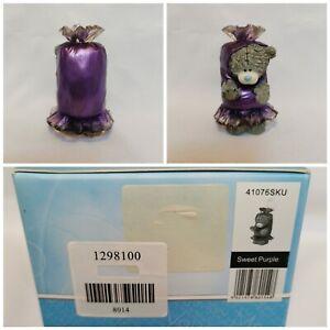 Me To You Figurine, Sweet Purple, Boxed, 41076SKU