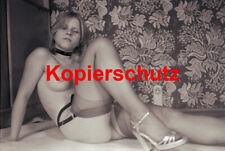 AK10 Ästhetisches Foto Frau Akt Sepia POSTKARTE  70er 10,5 x 14,8 cm