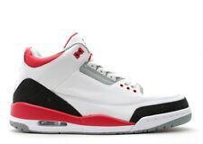 Air Jordan 3 Retro White Fire Red Cement Grey Black