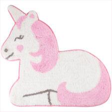 Pink Unicorn Rug Kids Bedroom Carpet Mat Nursery Childrens Home Gift Sass Belle
