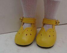 Chaussure jaune 6cm pour poupée convient auxpoupées anciennes contemporaines