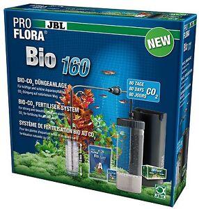 JBL ProFlora Bio 160 Professional Bio CO2 System Aquarium Plants with Diffuser