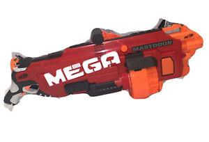 NERF B5575F07 N-strike Dart Gun Mega Mastodon