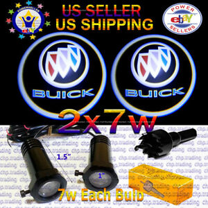 2x7w Ghost Shadow Laser Projector Logo LED Light Courtesy Door Step BUICK