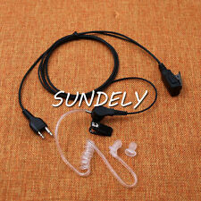 New Acoustic Tube Headset For Midland Radios LXT360 LXT365 LXT380 LXT385  LXT410
