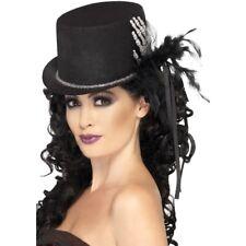 Skeleton Hand Top Hat Ladies Halloween Fancy Dress Accessory