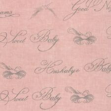 """54"""" Wide - Puttin' on the Ritz MODA Fabric by the 1/2 yd 54096 11  Pink"""
