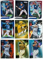 2020 Panini Prizm Red White Blue Nick Solak RC #232 Texas Rangers 40 Card Lot
