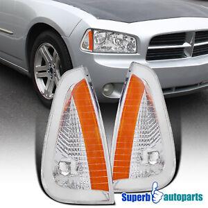 For 2006-2010 Dodge 06-10 Charger Signal Corner Lights Parking Side Maker Lamps
