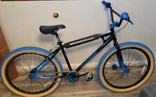 Mongoose Grudge BMX Freestyle Bike Single Speed 26 Inch Wheels Mens Black INHAND
