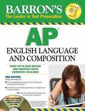 Barron's AP English Language and Composition with CD-ROM (Barron's Ap English