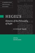 Hegel's Elements of the Philosophy of Right: A Critical Guide (Cambridge